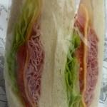 DONQ - 料理写真:ハムチーズサンド