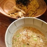 麺や天鳳 - 特製つけめん(脂多め)