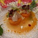 モナリザ - 2014年1月 海老の前菜