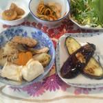 繚乱 - 大豆ミート豆腐定食