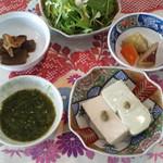 繚乱 - 二色豆腐定食