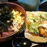 宮崎県日南市 塚田農場 - 鶏飯と鶏南蛮