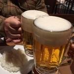 バーンホフ ニューミュンヘン - サッポロ生ビール中¥561