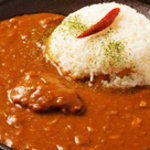 BAR MARUKO - お勧めの和風角煮カレー 800YEN