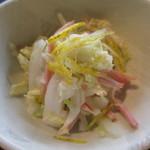 心地ダイニング奈々伊 - 白菜のサラダ