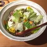 33550779 - もち豚のソテーと有機野菜のローマ飯!