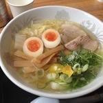 ラーメン河 - 塩ラーメン(700円)