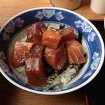 ラーメン河 - まぐろ丼(500円)