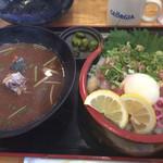 魚輝水産 - 料理写真:漁師丼