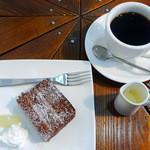 楓屋カフェ - ケーキセット