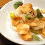33554565 - カイエット パリパリの菊芋のチップスが周りに