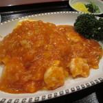 チャイニーズレストラン館 - エビチリ
