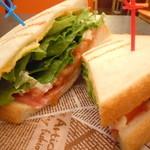 トラベルカフェ イオンモール大阪ドームシティ店 - サニーレタスたっぷり♪