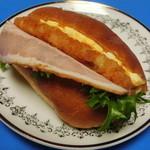 ブンブン小麦市場 - ハッシュドポテトベーコンエッグ