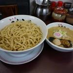 33557847 - 豚骨醤油つけ麺【750円】(2014/12/18)