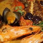 ボデガ - 料理写真:金目鯛と天使海老のブイヤベース風