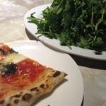 LINDA - ピザ、パクチー