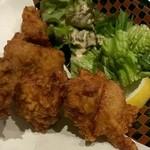 ロバタ 鮮 - 若鶏唐揚(600円)