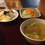 33561545 - スープやサラダつき