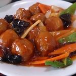 台湾料理 百味鮮 - 肉団子の甘酢