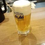33563006 - お疲れラーメン900円のビール(2014.12.18)