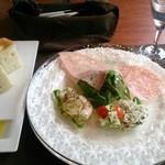 ガット ソリアーノ - 1500円ランチ前菜。美味しい!!
