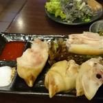 冷麺館 大国町店 - 豚足