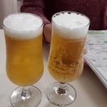 アルカディア - ビールで乾杯です
