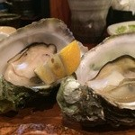 広島瀬戸内料理 雑草庵 - 焼き牡蠣