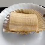 珈琲館けやき - H.26.12.18.朝 トーストモーニング 600円 パーツ(バナナ)