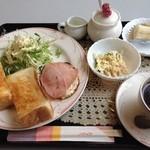 珈琲館けやき - H.26.12.18.朝 トーストモーニング 600円 全景