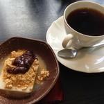 西洋食房 芝 - H.26.12.18.昼 ランチデザートとホットコーヒー