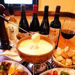 チーズ&フルーツバル GROW - 料理写真:大人気!チーズフォンデュ♪