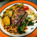 ビストロ アンプル - 洞口lさんの鮮魚と庄子農園の野菜