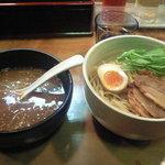 麺虎屋 - 味噌醤つけ麺700円