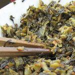 天舟 - 辛子高菜やゴマやコショウで自分好みに調節して、美味しく頂きました。