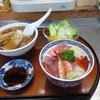 大黒寿司 - 料理写真:ミニちらしとミニラーメンのセット