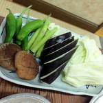 一九 - 野菜焼き_300円