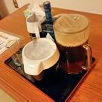 刺身一番 - 焼酎・ウーロン茶はセルフ