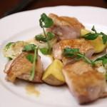 ビストロ グルトン - 地鶏もも肉と野菜のソテー