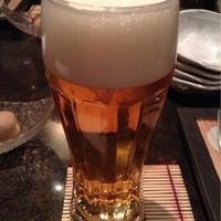 舞桜-トリビーで乾杯、アサヒスーパードライ