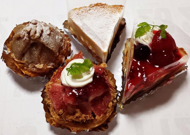 かのこ庵 - いちじくタルトやフルーツケーキ、チーズケーキに和栗モンブラン