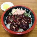 鯨食堂 - 【2014/12】鯨漬け丼