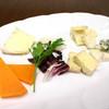ナチュラルチーズの盛り合わせ