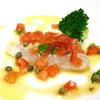 おすすめ魚のソテー ケッパーとオリーブのトマトソース