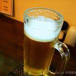 居酒屋和みや - とりあへずビール
