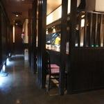 箱崎しん平 - カウンター席の他に、個室があります