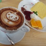 カフェ チェリーブロッサム - ケーキセット