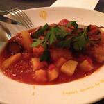 goo ITALIANO - チキンのトマト煮