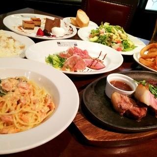 2980〜4980円のコース料理をご用意しております!